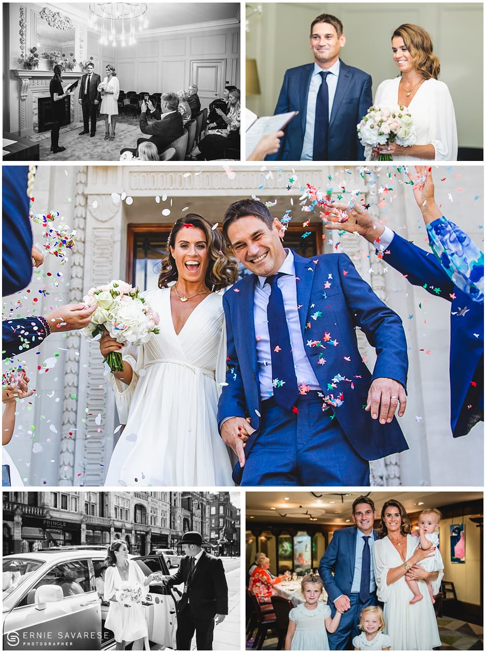 Register Office Wedding Photographer London - Old Marylebone Town Hall Wedding
