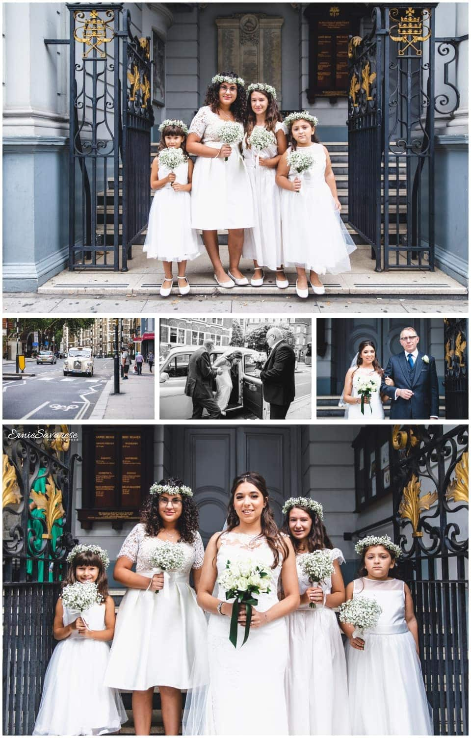 St Peter's Italian Church Wedding Photographer London