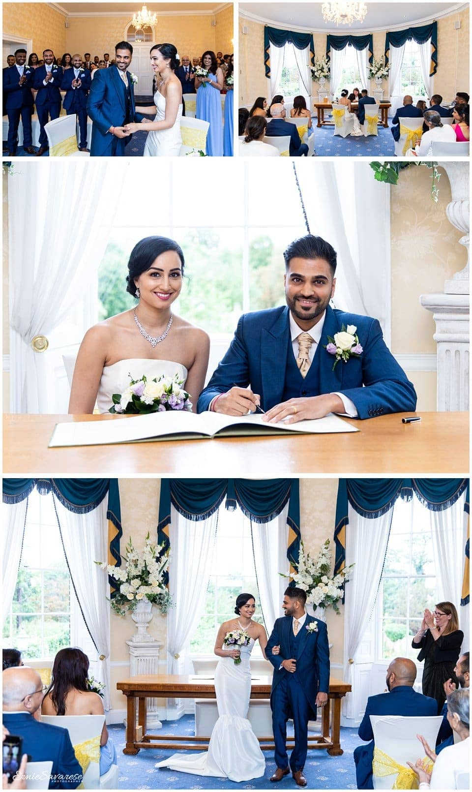 Merton Registry Office Wedding Photography London