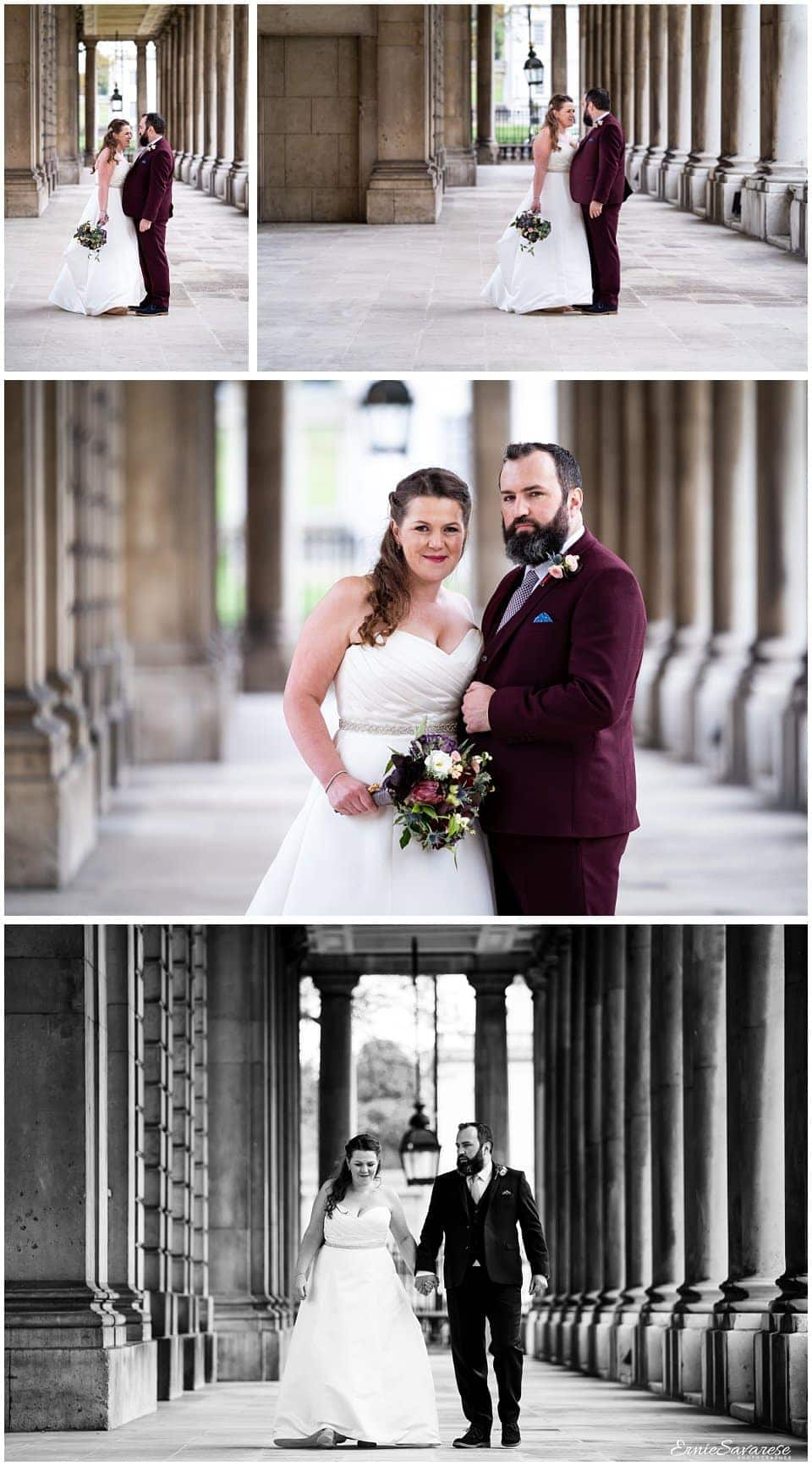 Old Royal Naval College Wedding Photography Greenwich