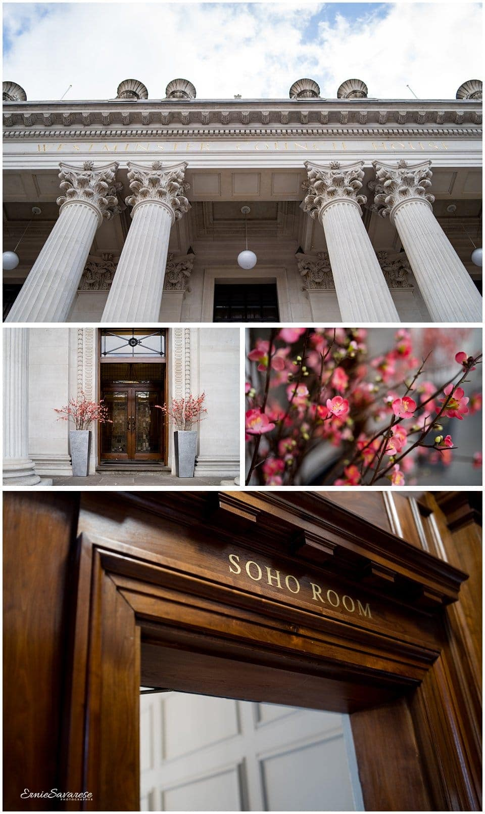 Old Marylebone Town Hall Wedding Photographer London