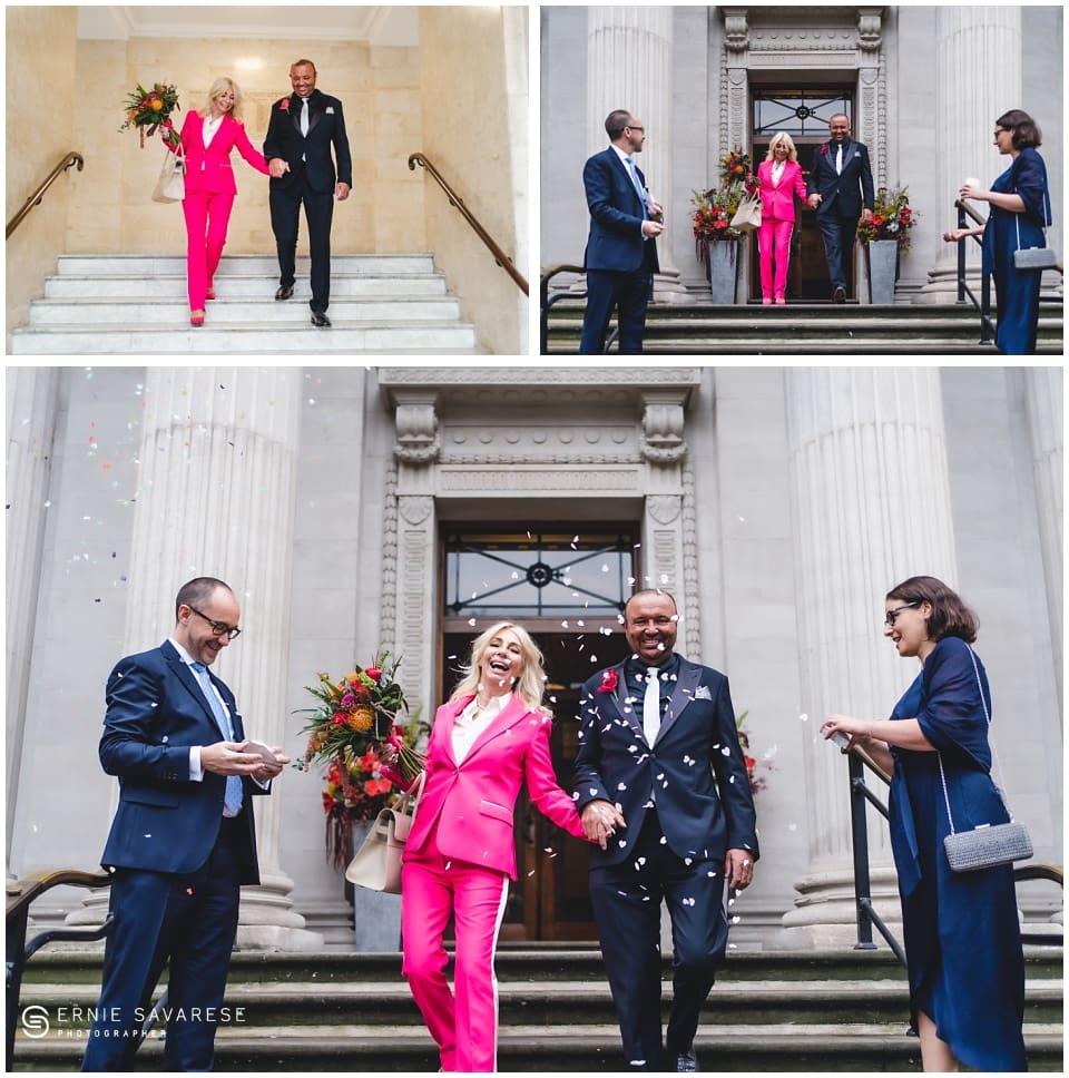 Old Marylebone Town Hall Wedding London