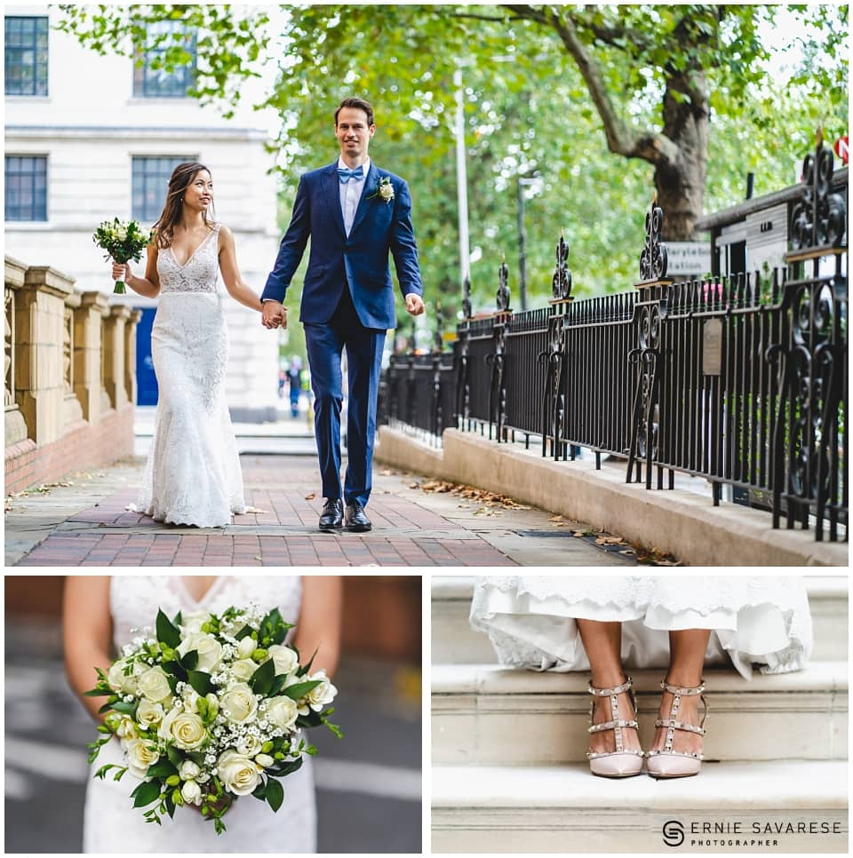 Old Marylebone Town Hall Wedding Westminster