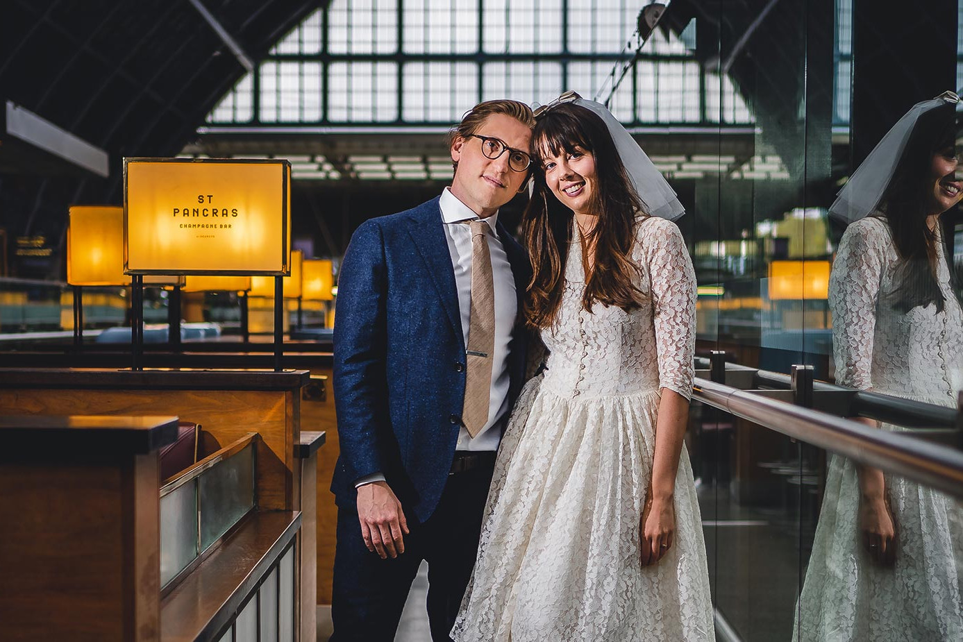 St Pancras Wedding Photographer